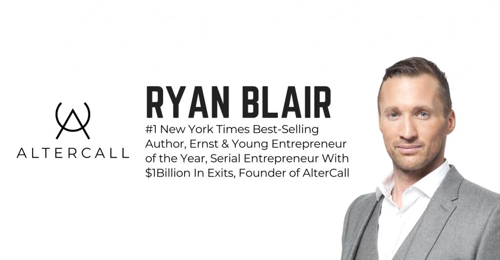 RYAN BLAIR: THE BILLION DOLLAR CHALLENGE